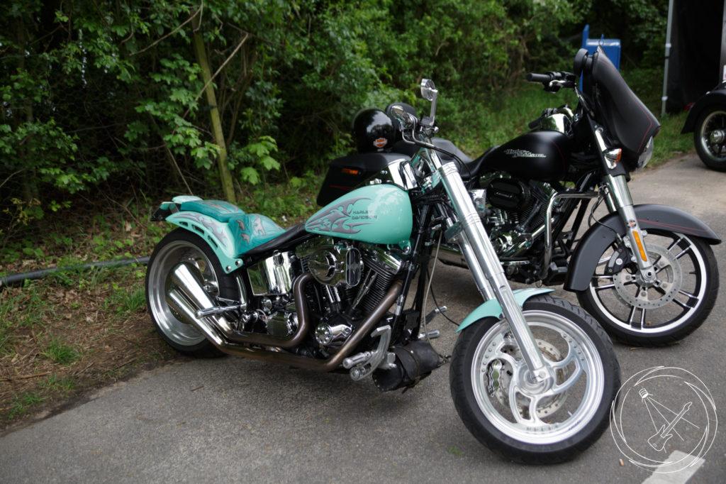 Eine Harley